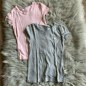Polo Ralph Lauren Pink And Gray Shirts